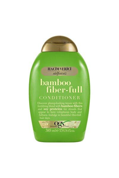 OGX Hacim Verici Bamboo Fiber-full şampuan 385ML+Bamboo Fiber-full Bakım Kremi 385ML