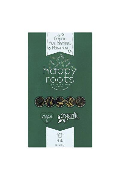 Happy Roots Yeşil Mercimek Makarnası, Organik