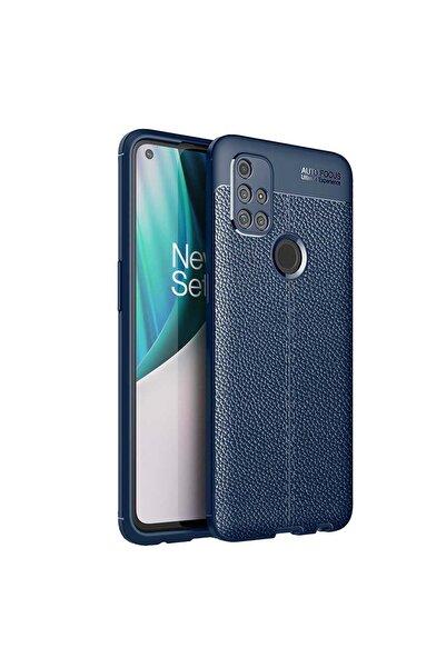Oneplus One Plus Nord N10 5g Kılıf Deri Görünümlü Ultra Koruma Esnek Silikon