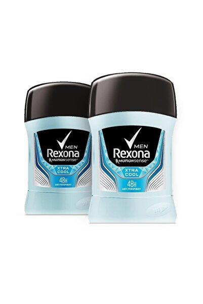 Rexona Erkek Deodorant Stick Invisible Extra Cool 50 Ml X2