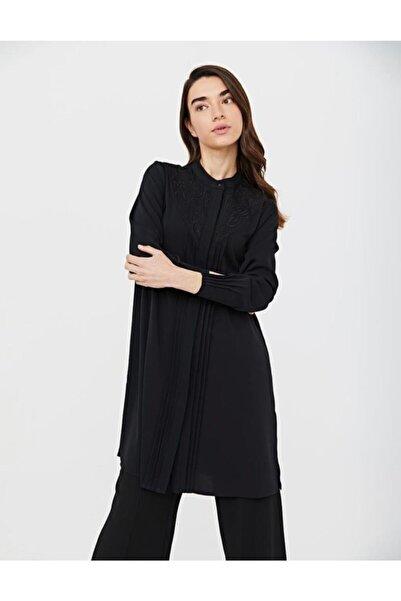 Kayra Kadın Siyah Tunik
