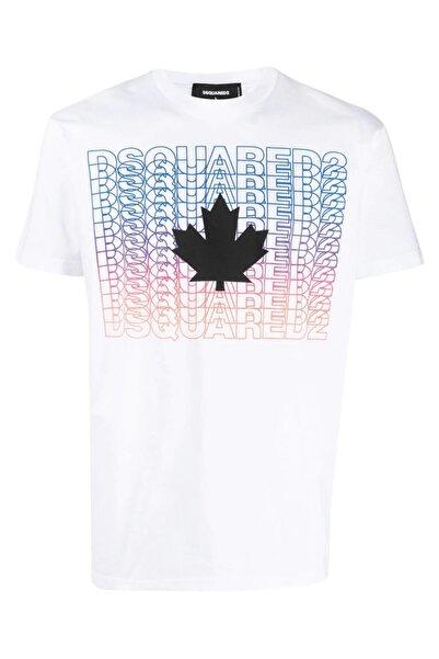 DSquared2 Graphic Print Pamuk T-shirt