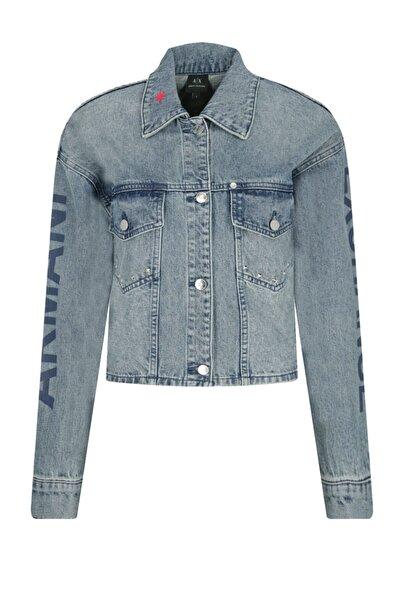 Armani Exchange Kadın Kot Ceket