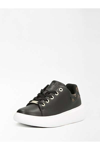 Guess Kadın Siyah Kahve Sneaker Fl6b29fal12