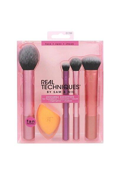 Real Techniques Redlip Cosmetic Everyday Essentials - Makyaj Fırça Seti