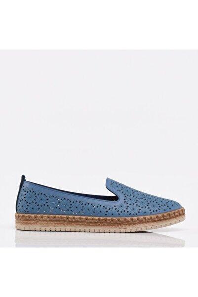 Hotiç Mavi Yaya Kadın Günlük Ayakkabı