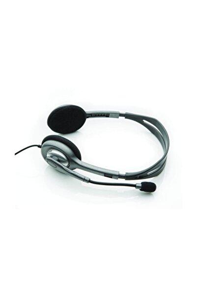 logitech Profesyonel H110 Mikrofonlu Kulaklık