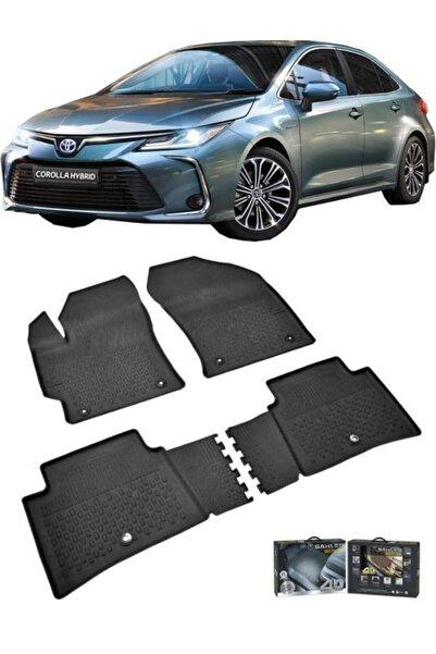 Sahler Toyota Corolla 2019- Sonrası Uyumlu 4.5d Havuzlu Paspas