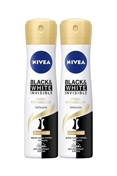 Nivea Black & White Ipeksi Pürüzsüzlük Sprey 150 ml X 2