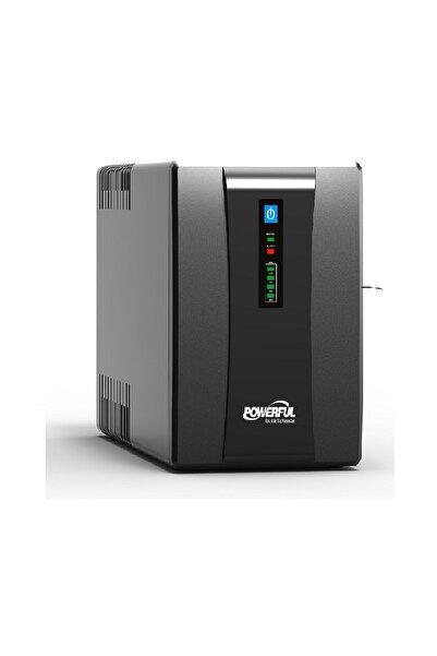 Powerful Sle-1500 1500va Lıne Interactıve Ups Kesintisiz Güç Kaynağı