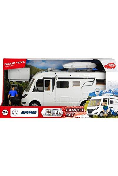 Dickie Toys Mercedes Hymer Oyuncak Karavan Playlife Camping Kamp Set