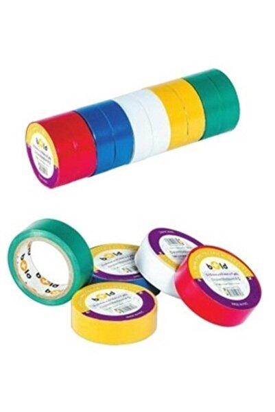 Kırgıl Elektirik Bandı Karışık Renkli 10 Lu