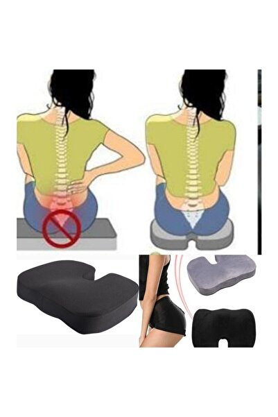 Tam12 Ortopedik Oturuş Minderi Elastik Hemoroid Basur Fissür Destekli Oturma Yastığı