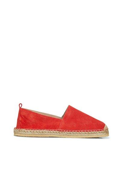 Dıvarese Erkek Kırmızı Espadril Ayakkabı