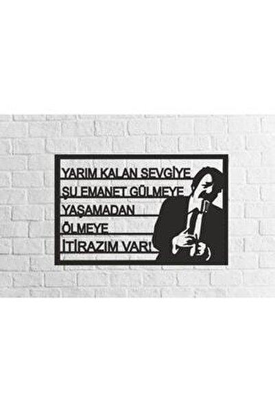 Müslüm Gürses Silüetli Mdf Tablo Evinize Ofisinize Yeni Tarz Wall