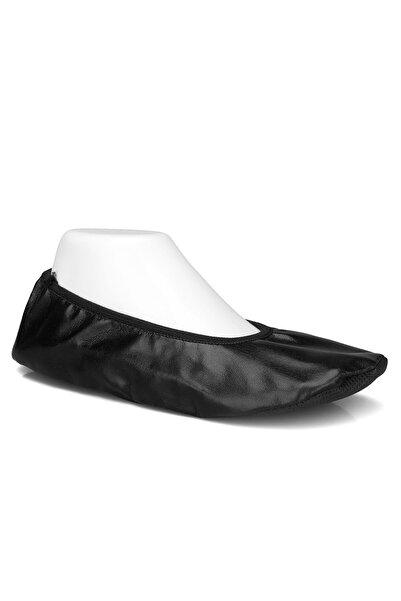 Pisipisi Siyah Gösteri Ayakkabısı Pisi Pisi Babet Ayakkabı