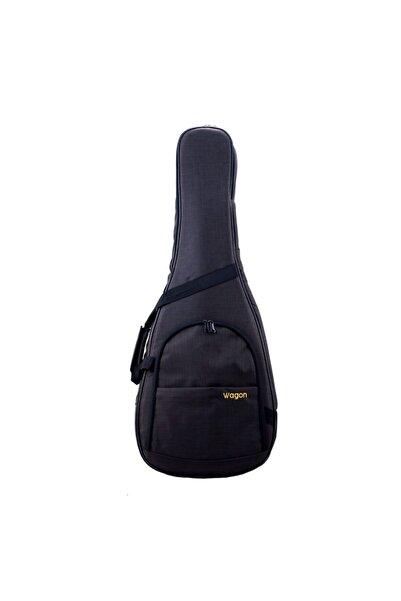 Wagon Case 03 Serisi Siyah Klasik Gitar Taşıma Çantası