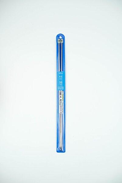Yabalı Titanyum Örgü Şişi 4,5 Mm 35 Cm
