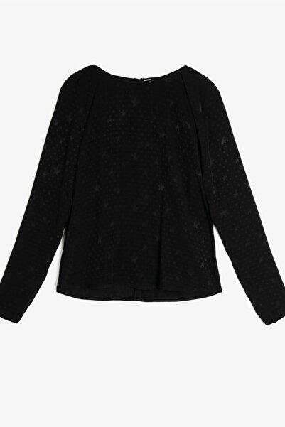 Koton Kadın Arzu Sabanci For Koton Siyah Bluz