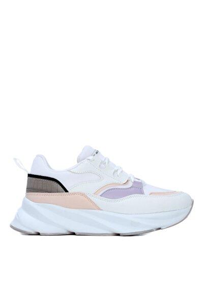 KEMAL TANCA Kadın Beyaz Vegan Sneakers & Spor Ayakkabı 625 2022 Byn Ayk Y21