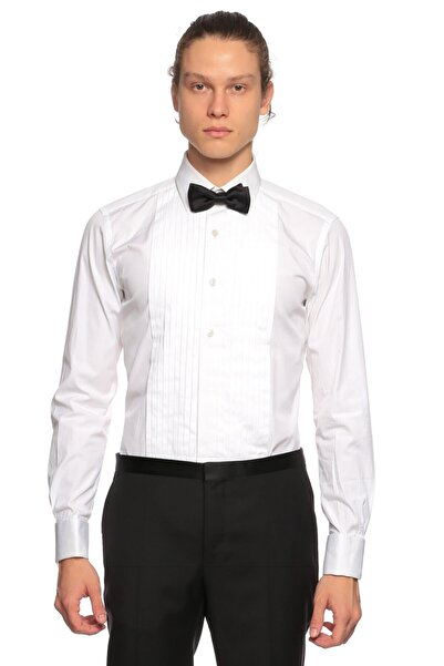 Tom Ford Beyaz Smokin Gömlek