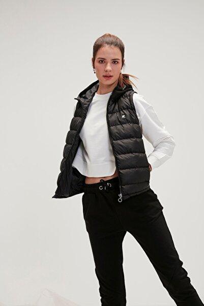 Bad Bear Kadın Siyah Heater Vest Nıght Yelek