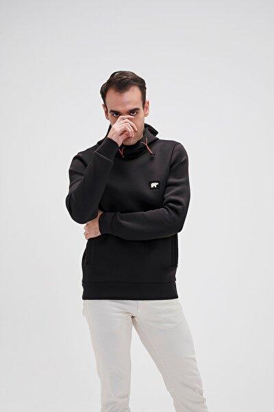 Bad Bear Erkek Siyah Sweatshirt Submarıne Hoodıe Nıght 20.02.12.034-siyah