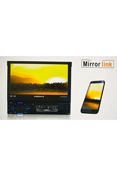 AUDİOMAX Indash 7 Inch Double Teyp ve Park Kamerası Bluetooth Mirror-usb-sd-aux