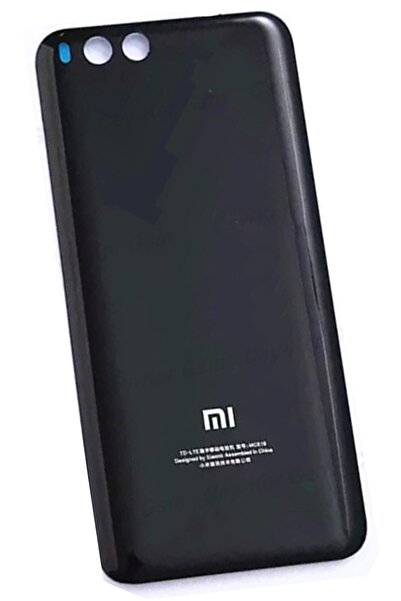 PROTECH Xiaomi Mi 6 Arka Kapak Batarya Pil Kapağı Cam Siyah