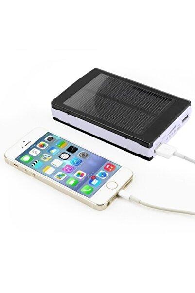 Mbois Güneş Enerjili Solar Taşınabilir Usb Girişli Şarj Cihazı Powerbank 15000 Mah