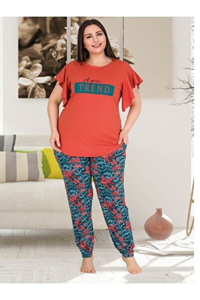 MASSİMO BAZAAR Kadın Büyük Beden Pijama Takımı