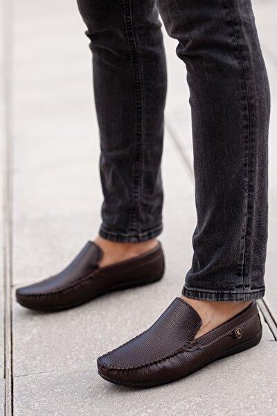 MUGGO Kahverengi Günlük Ayakkabı DPRMGM3473001 Hediye