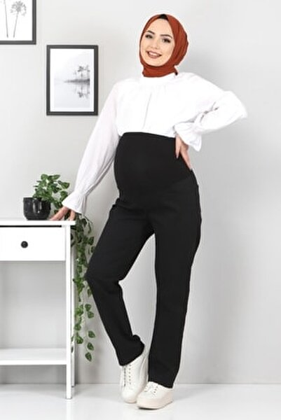 Siyah Hamile Kot Pantolonu Tsd22052