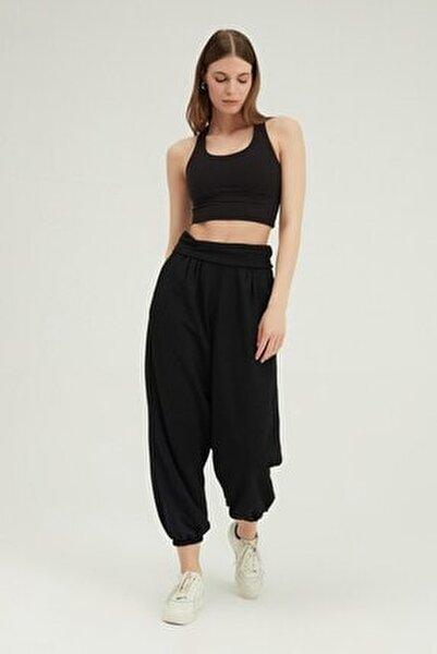 Kadın Yüksek Bel Şalvar Pantolon