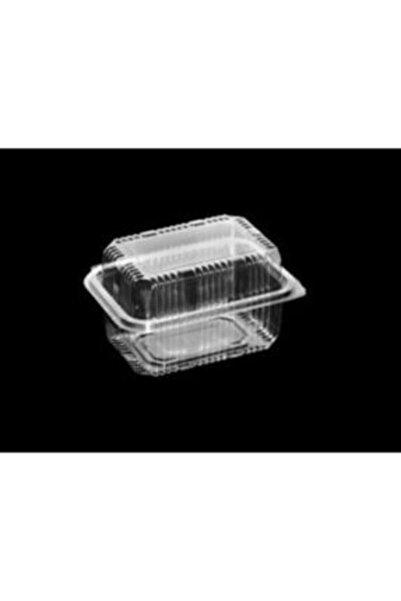 Miopack Plastik Sızdırmaz Kap 500 Gr Cc Yüksek Kapak Kullan At Tek Kullanımlık Plastik Kapaklı Kase 50 Adet