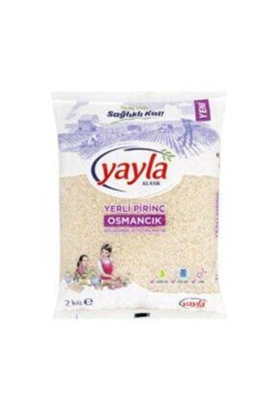 Yayla Osmancık Pirinç 2 Kg 2 Adet