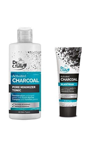 Farmasi Dr.c.tuna Aktif Karbon Detoks Etkili Set (gözenek Sıkılaştırıcı Tonik 225 ml +siyah Maske 20ml)