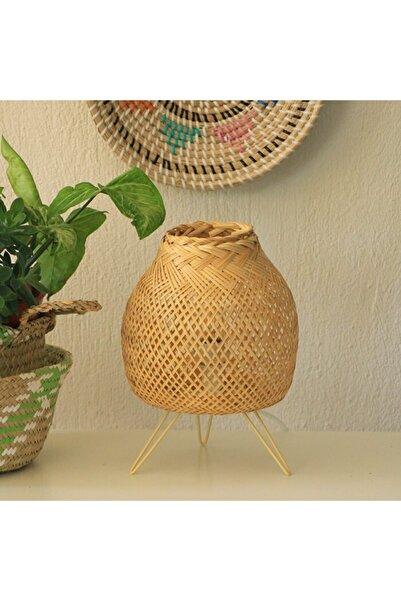 Renesse Home Mina Bambu Masa Lambası
