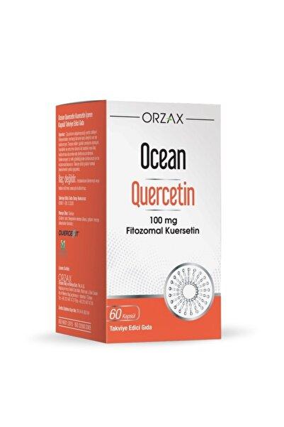 Ocean Quercetin 100 Mg 60 Kapsül Takviye Edici Gıda