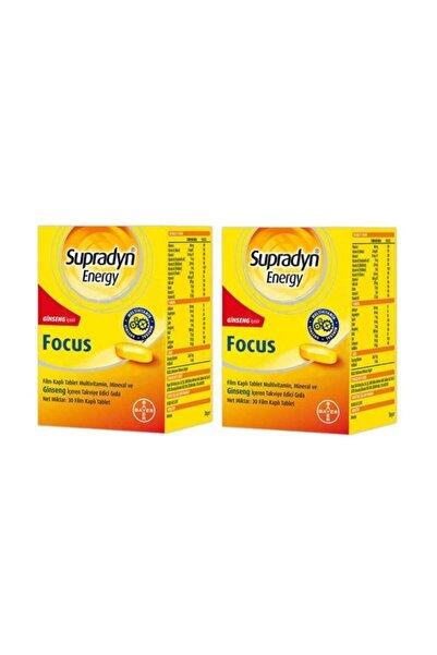 Supradyn Energy Focus 30 Tablet 2 Adet Skt:10/2021