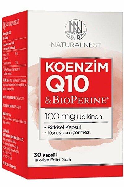 Natural Nest Naturalnest Koenzim Q10 100 Mg 30 Kapsül
