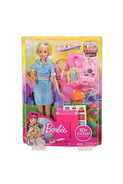 Barbie Fwv25 Seyahatte Ve Aksesuarları/ Seyahat