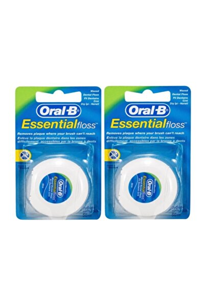 Oral-B Essential Floss Diş İpi  50 m x 2