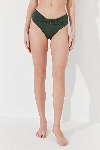 Penti Kadın Koyu Yeşil Basic Twist Bikini Altı
