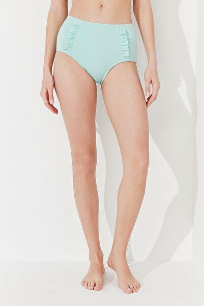 Penti Kadın Mint Yeşili Basic Yüksek Bel Bikini Altı