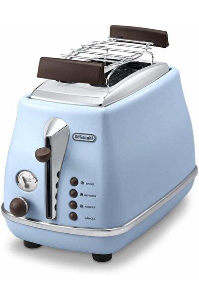 DELONGHİ Icona Vintage Mavi Ekmek Kızartma Makinesi Ctov 2103.az