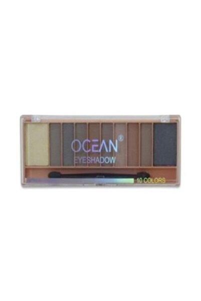 Ocean Göz Farı Paleti 10 Renk