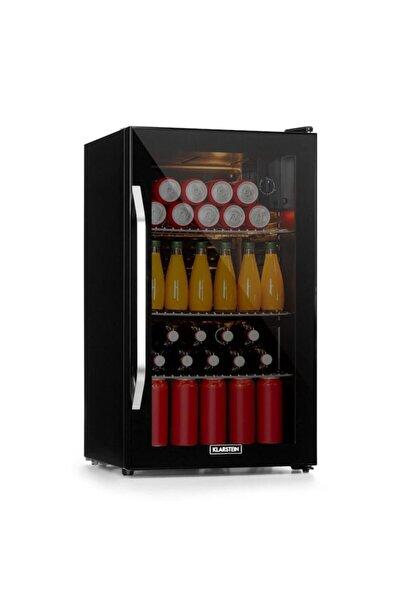 Klarstein Beersafe Xxl Onyx Mini Buzdolabı Cam Kapaklı Minibar