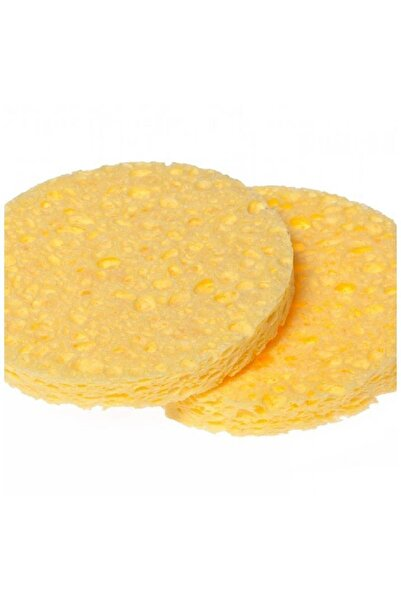 SİNKA Sarı Oval Yüz Temizleme Süngeri 2'li