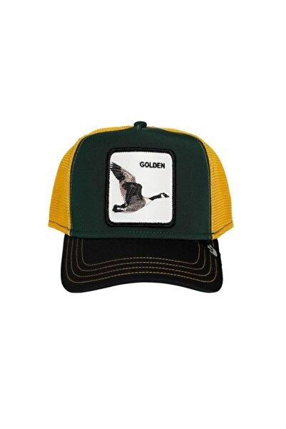Goorin Bros Unisex Yeşil Hardal Golden Goose Şapka